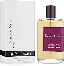 Perfumería y cosmética Atelier Cologne Ambre Nue - Agua de colonia