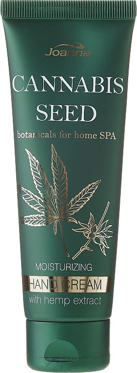 Crema de manos con extracto de cáñamo & aceite de macadamia - Joanna Botanicals Home Spa Moisturizing Hand Cream
