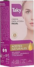 Perfumería y cosmética Crema depilatoria facial con aceites naturales - Taky Expert Face Hair Removal Cream