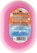 Perfumería y cosmética Esponja de baño, ovalada 30468, multicolor - Top Choice