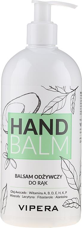 Bálsamo de manos nutritivo con aceite de aguacate y vitaminas - Vipera Nourishing Hand Balm
