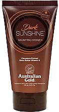 Perfumería y cosmética Loción autobronceadora con manteca de karité y extracto de canela - Austraian Gold Sunscreen Dark Magnifying Bronzer Professional Lotion