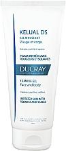 Perfumería y cosmética Espuma de ducha para rostro y cuerpo para pieles irritadas y seboescamosa con keluamida - Ducray Kelual Ds Gel Moussant