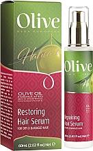 Perfumería y cosmética Sérum capilar de aceite de oliva - Frulatte Olive Restoring Hair Serum
