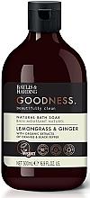 Perfumería y cosmética Espuma de baño con extractos de naranja & pimienta negra - Baylis & Harding Goodness Lemongrass & Ginger Natural Bath Soak
