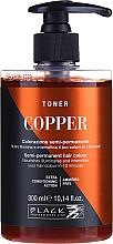 Perfumería y cosmética Tóner colorante semipermanente, sin amoníaco - Black Professional Line Crazy Toner