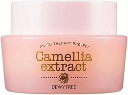 Perfumería y cosmética Crema facial con aceite de camelia y macadamia - Dewytree Phyto Therapy Camellia Extract Cream