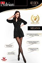 Perfumería y cosmética Pantis Melania String, 40 Den, negro - Adrian
