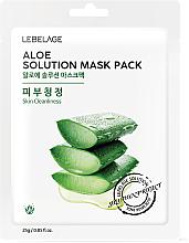 Perfumería y cosmética Mascarilla facial con polvo de aloe vera - Lebelage Aloe Solution Mask