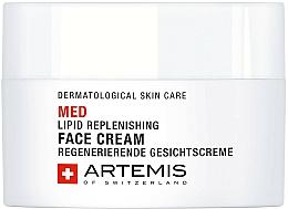 Perfumería y cosmética Crema facial lipídica con aceite de jojoba y proteína de trigo - Artemis of Switzerland Med Lipid Replenishing Face Cream