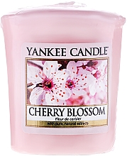 Perfumería y cosmética Vela aromática votiva, flor de cerezo - Yankee Candle Scented Votive Cherry Blossom