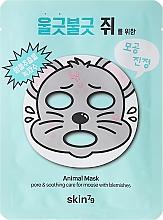 Perfumería y cosmética Mascarilla facial de tejido anti poros abiertos con extracto de hamamelis - Skin79 Animal Mask