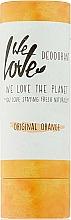 Perfumería y cosmética Desodorante stick naranja de aceite de coco y almidón de maíz - We Love The Planet Original Orange Deodorant Stick
