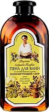 Perfumería y cosmética Espuma de baño tonificante a base de saponaria con extracto de ajenjo - Las recetas de la abuela Agafia