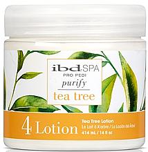 Perfumería y cosmética Loción purificante para pies con extracto de árbol de té - IBD Tea Tree Purify Pedi Spa Massage Lotion