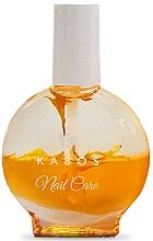 Perfumería y cosmética Aceite de uñas y cutículas bifásico de agán y extracto de baya Goji - Kabos Nail Oil Yellow Flowers