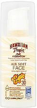 Perfumería y cosmética Loción protectora solar - Hawaiian Tropic Silk Hydration Air Soft Face Protective Sun Lotion SPF 30