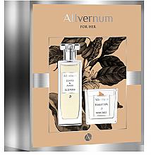 Perfumería y cosmética Allvernum Coffee & Amber - Set (edp/50ml+ vela/100g)