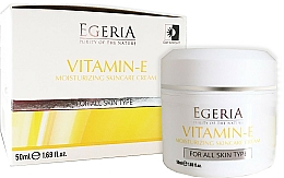 Perfumería y cosmética Crema facial hidratante con vitamina E - Egeria Vitamin-E Moisturizing Skincare Cream