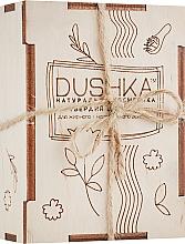 Perfumería y cosmética Champú sólido con aceite de bergamota y vitaminas - Dushka
