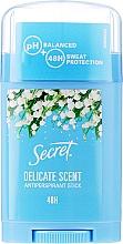 Perfumería y cosmética Desodorante antitranspirante stick, 48hs protección - Secret Antiperspirant Stick