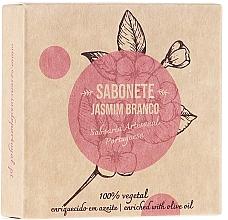 Perfumería y cosmética Jabón vegetal artesano con jazmín - Essencias De Portugal Senses Jasmine Soap With Olive Oil