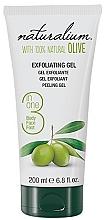 Perfumería y cosmética Gel exfoliante corporal con aceite de oliva natural - Naturalium Gel Exfoliante Oliva Natural