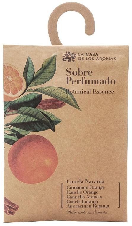 Sobre perfumado, canela y naranja - La Casa de Los Botanical Essence Cinnamon Orange