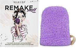 """Perfumería y cosmética Guante desmaquillante, lila """"ReMake"""" - MakeUp"""