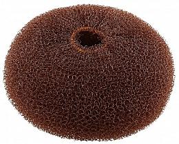 Perfumería y cosmética Esponja de moño, 110 mm, marrón - Lussoni Hair Bun Ring Brown
