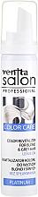 Espuma revitalizante de color para cabellos rubios o grises - Venita Salon Professional Platinum Color Care — imagen N1