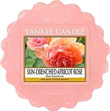 Tarta de cera perfumada, rosa de albaricoque bañada por el sol - Yankee Candle Sun-Drenched Apricot Rose — imagen N1
