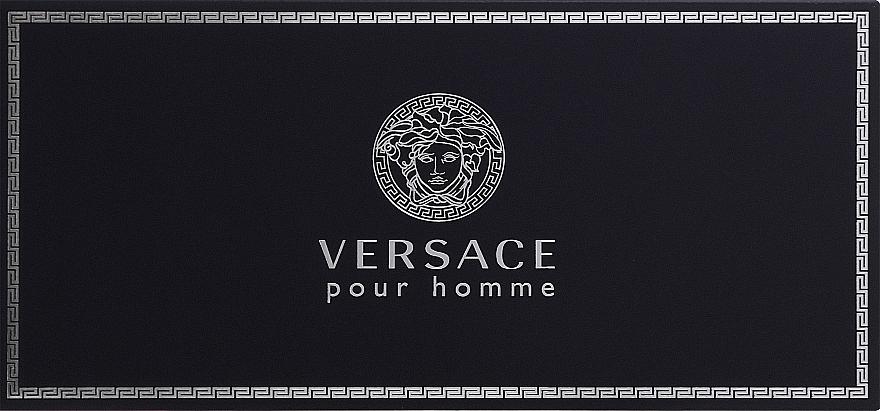 Versace Versace Pour Homme - Set (eau de toilette/5ml + gel de ducha/25ml + bálsamo aftershave/25ml) — imagen N1