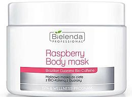 Perfumería y cosmética Mascarilla corporal con extracto de frambuesa y biocafeína de guaraná - Bielenda Professional Raspberry With Guarana Bio-Caffeine Body Mask