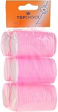 Perfumería y cosmética Rulos de velcro, 38mm, 3431, 6uds. - Top Choice