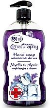 Perfumería y cosmética Jabón antibacteriano con lavanda y aloe vera - Bluxcosmetics Naturaphy Hand Soap