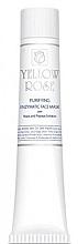 Perfumería y cosmética Mascarilla facial enzimática con extracto de papaya y levadura (en tubo) - Yellow Rose Purifying Enzymatic Face Mask