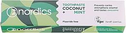 Perfumería y cosmética Pasta dental con aceites de coco y menta - Nordics Coconut + Mint Toothpaste