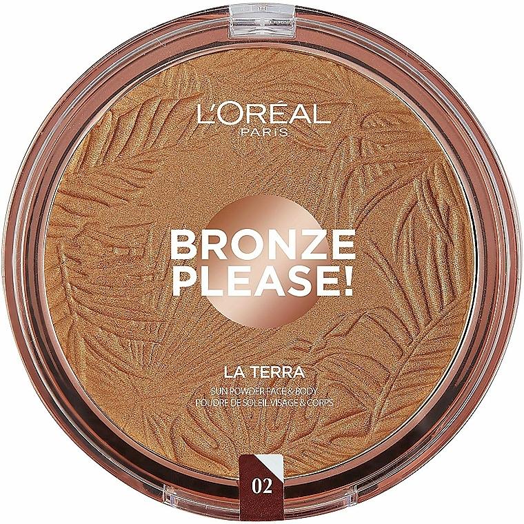 Bronceador facial - L'Oreal Paris La Terra Joli Bronze Bronzer