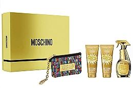Perfumería y cosmética Moschino Gold Fresh Couture - Set (eau de parfum/100ml + loción corporal/100ml + gel de ducha y baño/100 ml + neceser)