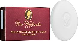 Perfumería y cosmética Jabón perfumado para cuerpo con aroma floral - Pani Walewska Ruby Soap