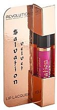 Perfumería y cosmética Brillo labial líquido - Makeup Revolution Salvation Velvet Lip Lacquer