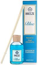 Perfumería y cosmética Ambientador Mikado con aroma a  nerolí y flor de naranjo - Breeze Diffusore Blue