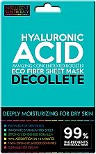 Perfumería y cosmética Mascarilla de tejido para escote con ácido hialurónico, pieles sensibles - Beauty Face IST Extremely Moisturizing Decolette Mask Hyaluronic Acid