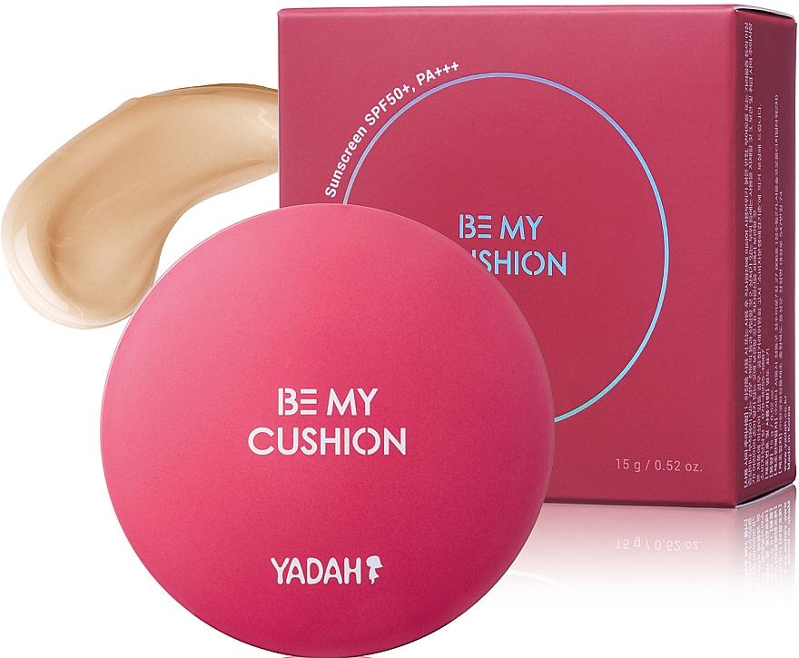 Base de maquillaje cushion para cobertura potente - Yadah Be My Cushion SPF50 PA +++