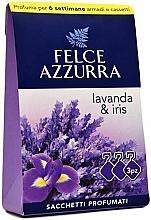 Perfumería y cosmética Sobres aromáticos para ropa, lavanda e iris - Felce Azzurra Sachets Lavender and Iris