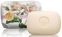 Perfumería y cosmética Jabón artesanal con rosa - Saponificio Artigianale Fiorentino Rose Soap