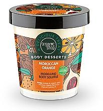 Perfumería y cosmética Souffle corporal con aceite de naranja, efecto remodelador - Organic Shop Body Desserts Moroccan Orange Souffle