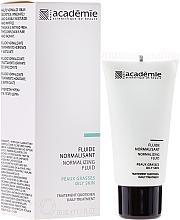 Perfumería y cosmética Fluido facial normalizante e hidratante con extracto de pomelo - Academie Normalizing Fluid