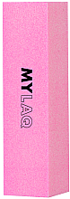 Perfumería y cosmética Bloque pulidor de uñas, grano 240, rosa - MylaQ